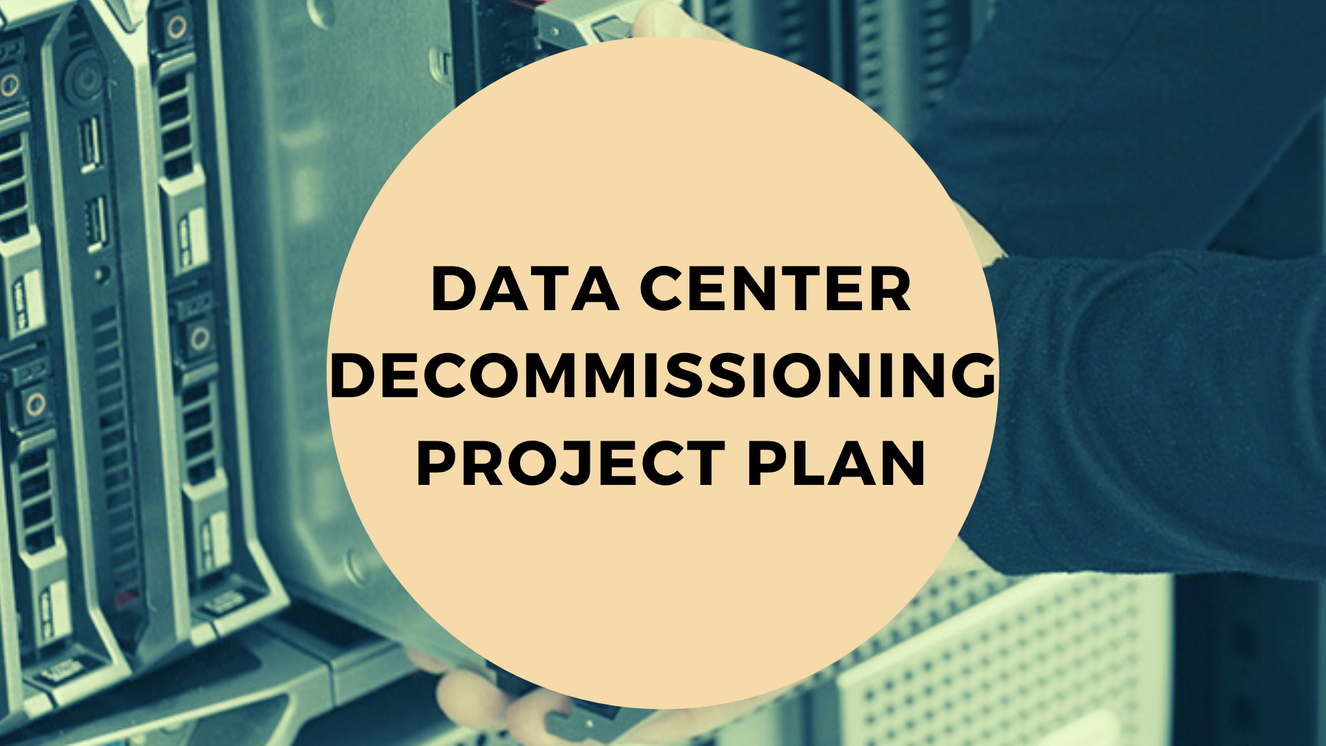 Data-center-decommissioning-project-plan